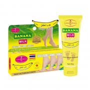 Крем для пяток Aichun Beauty Baby Foot Banana Milk, для очень сухой кожи, арт. AC-229-1, 0.08 кг
