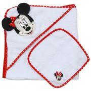 Комплект для купания Polini kids Disney baby Минни Маус, 2 предмета, красный