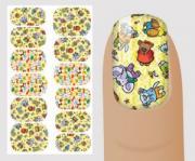 """Слайдер для дизайна ногтей, """"Детские"""" №C106 , NOGTIKA"""