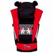 Рюкзак-Эрго Polini kids Disney baby Минни Маус, с вышивкой, черный