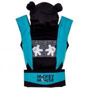 Рюкзак-Эрго Polini kids Disney baby Микки Маус, с вышивкой, черный