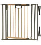 Ворота безопасности Geuther EasyLock Wood Plus с креплением на лестницу (2793+) натуральный