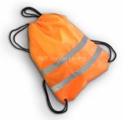 Мешок для обуви сигнальный цвет оранжевый 32х42см COVA