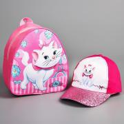 Набор рюкзак с кепкой, Коты-аристократы