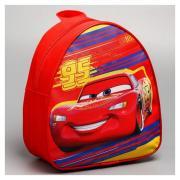 Disney Рюкзак детский кожзам «95», тачки, 21 х 25 см