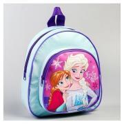 Disney Рюкзак детский кожзам «Frozen Heart», холодное сердце, 26,5 х 23,5 см