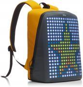 Рюкзак Pix Backpack с LED экраном, желтый (пауэр банк в комплекте)