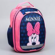 Рюкзак школьный с эргономичной спинкой, Минни Маус, 38 x 30 x 13 см