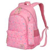 Рюкзак школьный в комплекте с пеналом Sun eight SE-8249 (Розовый)