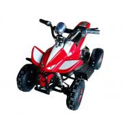 Электроквадроцикл детский GreenCamel Gobi K11 (24V 350W R4 цепной привод) красно-белый