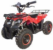 Электроквадроцикл детский GreenCamel Gobi K40 (36V 800W R6 цепной привод) красный паук