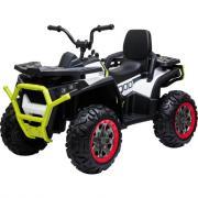 Детский квадроцикл Toyland Qwatro 4х4 ХМХ607 белый
