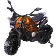 Детский электромотоцикл Toyland Moto Sport YEG2763 оранжевый