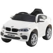 Детский электромобиль Toyland BMW X6M mini белый