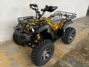 Электроквадроцикл для взрослых GreenCamel Sahara AWD 4x4 (60V 2x2kw R10 Alum дифференциал) армейский желтый