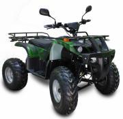 Электроквадроцикл для взрослых GreenCamel Sahara A2230 (R10 72v 2200w дифференциал) армейский зеленый