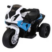 Электромотоцикл BUGATI BMW 6V4AH*1 бело-синий ST00220-WH-BL