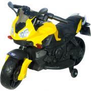 Детский электромотоцикл Toyland Minimoto JC917 желтый