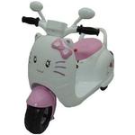 Детский электромотоцикл Jiajia розовый - 8040270-P