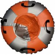 Санки-ватрушка Мега SM-245 (металлик-оранжевый) (Диаметр, см: 105)