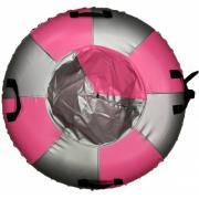 Санки-ватрушка Мега SM-245 (металлик-розовый) (Диаметр, см: 105)