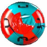 Санки-ватрушка Мега SM-245 (голубой-красный) (Диаметр, см: 105)