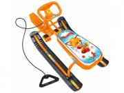 Снегокат Nika Тимка спорт 2 ТС2/Л2 с лисенком оранжевый каркас