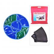 Санки надувные Ватрушка D 1,1 м из тент ткани с молнией
