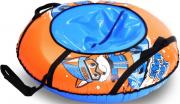 Санки-ватрушка надувная (тюбинг) ТяниТолкай 93 см Snowfox с автокамерой