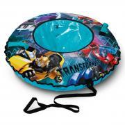 Ледянки Ника Тюбинг с круговым дизайном Трансформеры, D-90 см