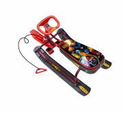 Снегокат Nika Тимка спорт 2 с роботом (бордовый каркас) ТС2/Р2
