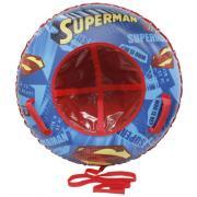 Тюбинг 1Toy Супермен надувные сани (материал глянцевый пвх) 85 см