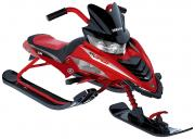 Снегокат Yamaha Viper Snow Bike красный