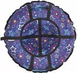 Тюбинг Hubster Люкс Pro Звезды Синие 110 см во4926-10