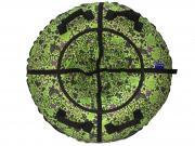 Тюбинг Мистер Вело Standart Бабочки зеленые, 87 см