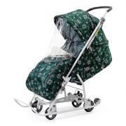 Cанки-коляска Nika Умка 3-1 Вязанный Скандинавский зеленый