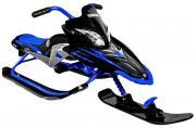 Снегокат Yamaha Apex Snow Bike Titanium Black/blue