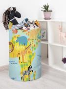 Корзина для игрушек JoyArty Веселая карта 40x60 см
