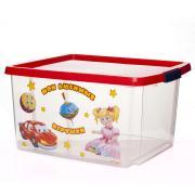 Ящик для игрушек с рис.30 л 470*365*245