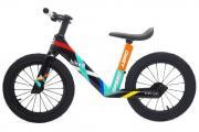 "Беговел ""Bike 8"" Aero 14"" Карбоновый (OneSize, Black/Mint)"