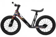 "Беговел ""Bike 8"" Aero 14"" Карбоновый (OneSize, Black Stripes)"
