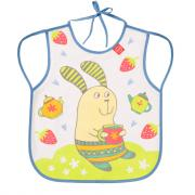 Нагрудный фартук Happy Baby 16011 Bib With Hangers Rabit Lilac