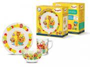Набор детской посуды Priority КРС-970 Три кота