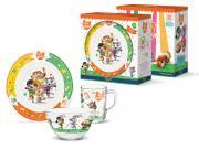 Набор детской посуды Priority КРС-999 44 котёнка