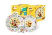 Набор детской посуды Priority КРС-820 Три кота