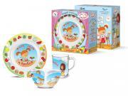 Набор детской посуды Priority КРС-840 Жила-была царевна