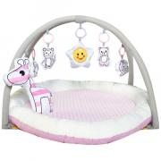 Коврик развивающий Everflo Animals World HS0431265 pink