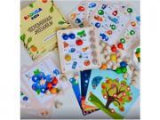 Развивающая игра Raduga-Kids Макси (14769221) Мозаика деревянная