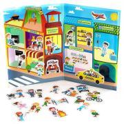 База игрушек Магнитная игра Город профессий