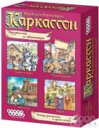 Настольная игра Каркассон. Предместья и обитатели